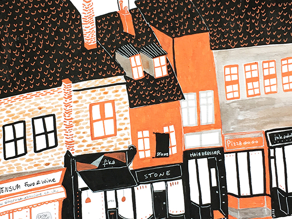 Artist Ignis Szy commissioned to illustrate Norwich buildings